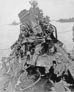 USS_Newcomb_Damage_1945