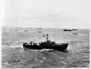 USCG 83 ft patrol boat, probably June 1944. Photographer unknown.