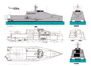 Austal 80 meter Multi-Role Vessel