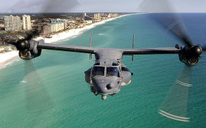 USAF_CV-22_Osprey_flies_over_the_Emerald_Coast_DOD_Photo
