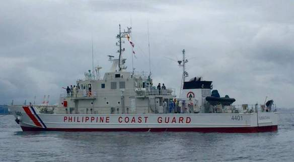 BRP Tubbataha during its delivery to the Philippine Coast Guard, Philippine CG PAO photo