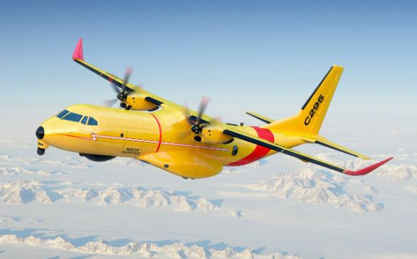 Airbus C-295 seleccted as Canada's Fixed Wing SAR aircraft.