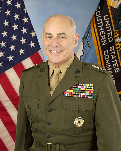 John Francis Kelly (born May 11, 1950) is a retired United States Marine Corps general and the former commander of United States Southern Command.