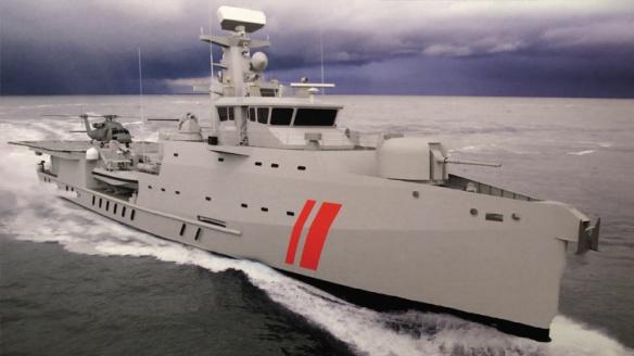 UAE offshore patrol vessel Arialah