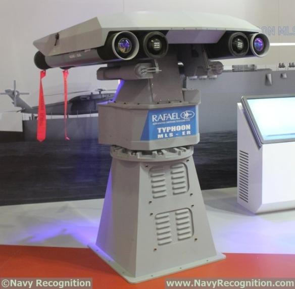 Rafael_Typhoon_MLS_ER_naval_missile_system